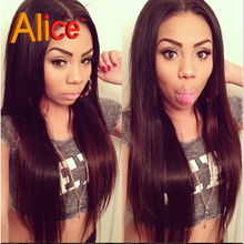 Straight Lace Front Wigs Full Lace Human Hair Wigs Brazilian Virgin Hair U Part Wig Brazilian Full Lace Wig With Baby Hair