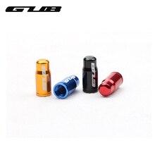 GUB 2 шт./лот алюминиевые велосипедные колпачки для клапанов велосипедные шины конверсионные газовые пылезащитные крышки MTB велосипедные переходники для клапанов крышка клапана