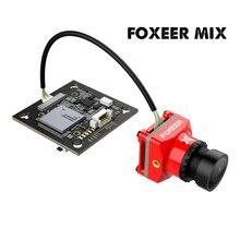 Foxeer Mix 16:9/4:3 PAL/NTSC commutable 1080 p 60fps Super WDR Mini HD FPV caméra avec objectif 2.1mm pour partie Drone de course FPV