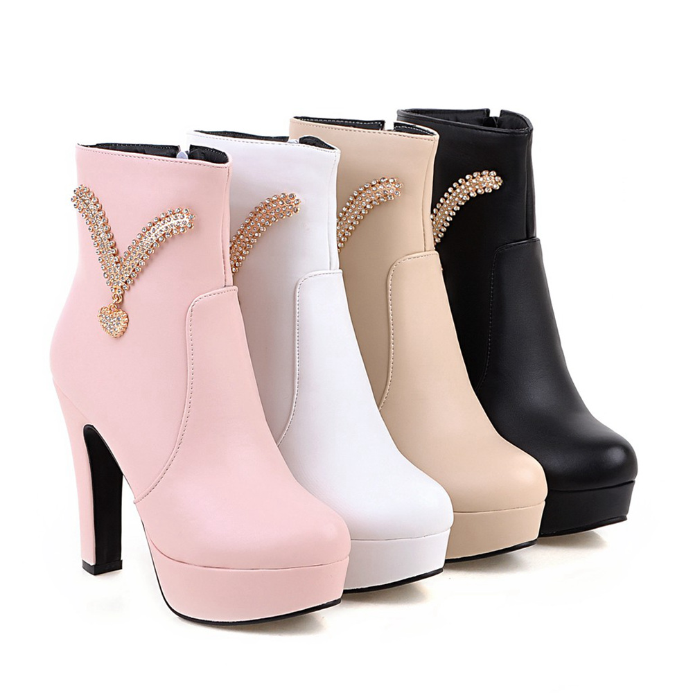 Ladies White Boots Promotion-Shop for Promotional Ladies White ...