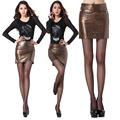 2017 Summer Fashion Sexy Package Hip Short Skirt Step Skirt Leopard Stripe Dot Print Women Skirts mini falda mujer