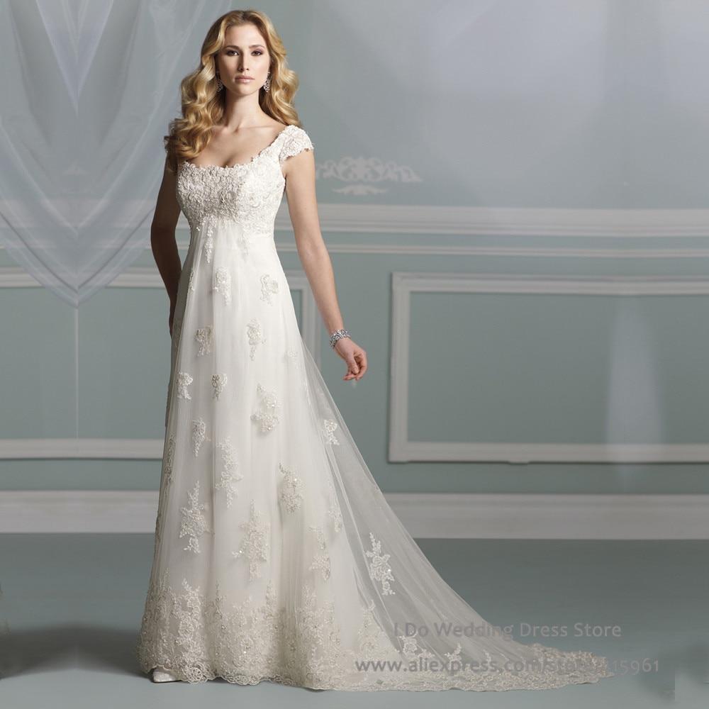 strapless empire waist wedding gowns empire wedding dress Wedding Dresses Empire Waist Flowy Plus Size Font B