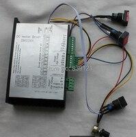 קלט dc20-150v ac15-110v בתוך מכונת חריטת 2000 w dc מהירות מנוע יכול להתאים MACH3 בקרת PLC