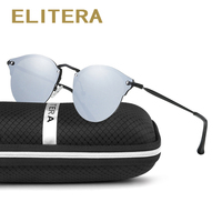 ELITERA New Arrival Fashion Cat Eye Sunglasses Women Brand Designer Luxury Retro Vintage Frame Sun Glasses