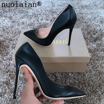 3dfbb6fb044f Черные туфли на высоких каблуках женская свадебная обувь женские ...