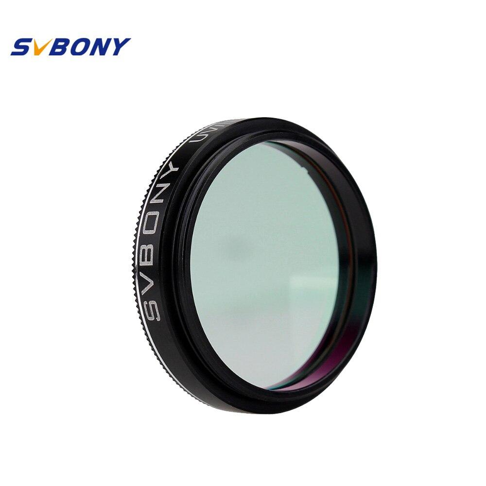 SVBONY 1.25 ''UV/IR Cut Filtre Télescope Optique Infra Rouge Filtre CCD Caméra pour L'astronomie Monoculaire Jumelles Télescope f9127