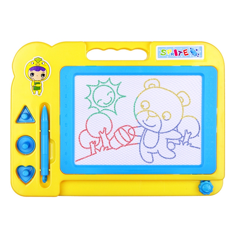 Magnetic drawing board toys chromatic Drawing Board paper Children Learning Educational Paint Toys gift Learning maching Doodle
