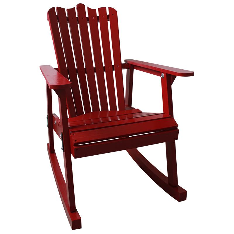 muebles de jardn mecedora de madera al aire libre colores estilo country americano antigedad de