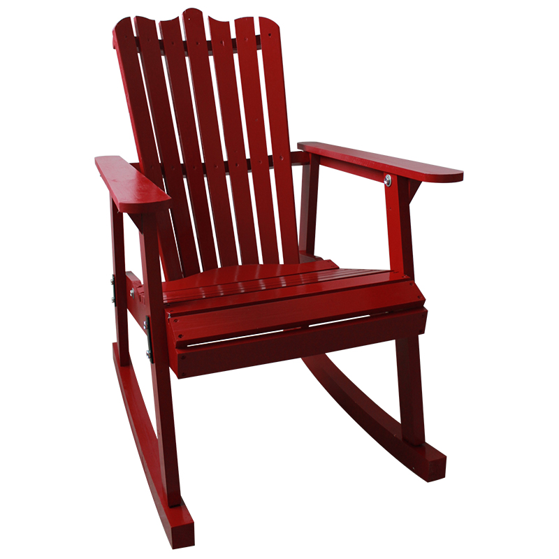 outdoor furniture garden rocking chair wood 4 colors american country style antique vintage adult recliner rocking chair seat