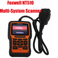 Foxwell NT510 Multi-System Scanner Support Multi-Languages Foxwell nt510 Professional auto diagnostic scanner Update Online