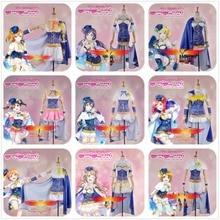Love Live!Tojo Rin Ayase Eli Umi Maki Minami Kotori Niko Honoka Hanayo Virgo Dress Constellation Awakening Girl Cosplay Costume  все цены