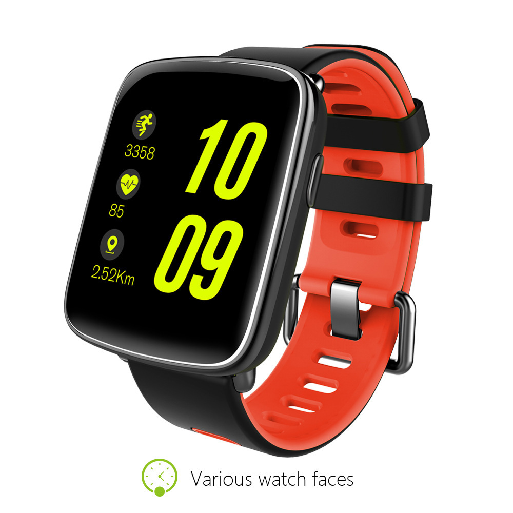 MTK2502 GV68 Smart Watch Sports Watch IP68 Waterproof Heart Rate Monitor Message Call Reminder Bluetooth 4.0 smart watches