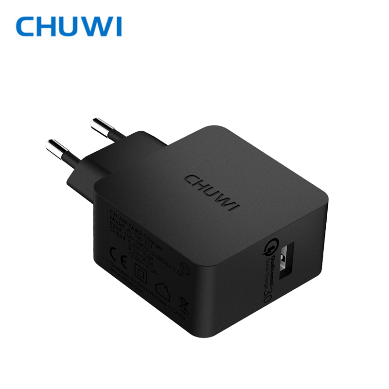 CHUWI Hi-Charger QC3.0 Power Dock Wall Charger Adapter Quick Charge 5V 3A, 9V 2A,12V 1.5A Output for Samsung Xiaomi mobile power