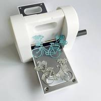 DIY Hand Type Embossers Mini Paper Cutting Machine Stainless Steel Die Cuts for Handcraft Crafts Card Gifts Accessories for Kids