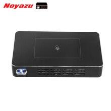 Noyazu 32 GB Corrección Keystone HDMI DLP Pico Proyector Bluetooth 4.0 1080 P HD de cine en Casa Portátil Móvil Con Touchpad
