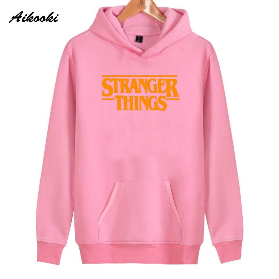 Hoodie Stranger Things Hoodies Sweatshirt women/men Casual Stranger Things Sweatshirts Women Hoodie Men's 48