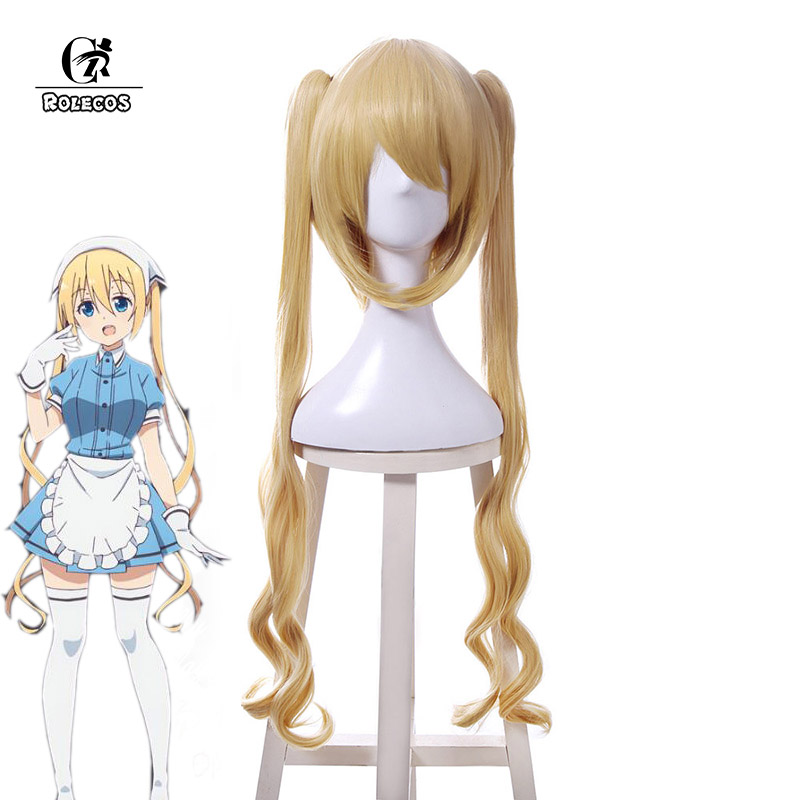 ROLECOS Japanese Anime Blend S Cosplay Hinata Kaho Hair Accessories Stile Cafe Sadistic Women Cosplay Synthetic Hair