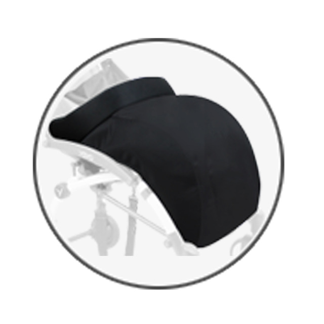 Stroller Accessoriees General Stroller Foot Cover Windproof Soft And Warm Pushchair Pram Accessory