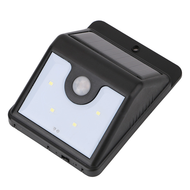 4led Solar Lights Outdoor Solar Panel Led Lampe Solaire Waterproof
