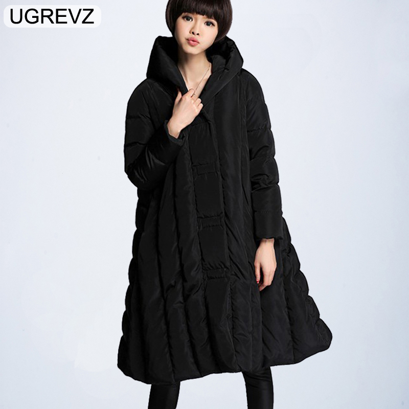 2018 Womens   Parka   Winter Coat Cotton Clothes Tops New Brand Hooded Winter Jacket Women Plus Size S-6XL Long Warm Female Chaqueta
