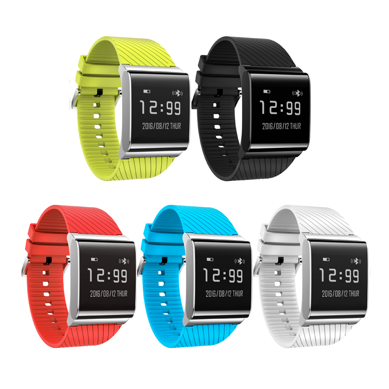 2017 Wearable Devices Heart Rate Monitor font b Smart b font Band Bluetooth Activity Monitor font