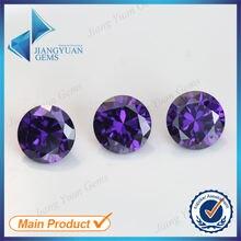 50 шт 5a 08 16 мм Фиолетовый Цвет свободный циркониевый куб