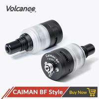 Volcanee CAIMAN BF Style MTL RDA Rebuildable Atomizer 22mm Diameter for 510 Box Mod Electronic Cigarette DIY Tools Vape Tank