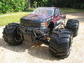 HSP 94050 RTR 1/5th 4WD 30cc Motor A Gasolina Off-Road carro Monster Truck