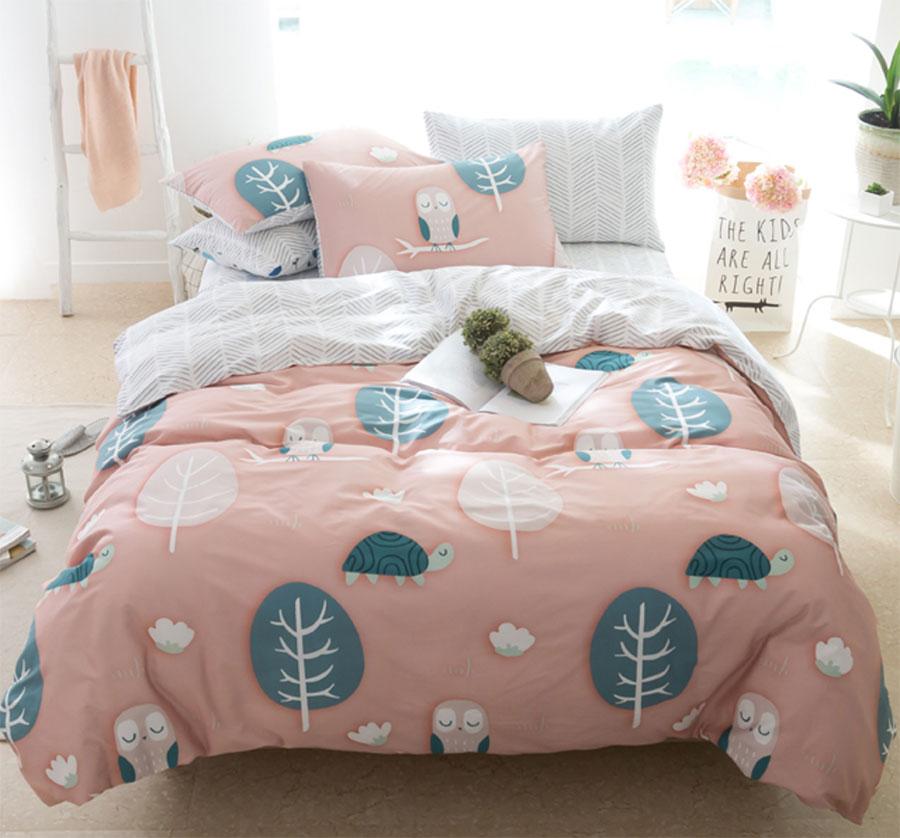 linge de lit ado ide dco une chambre duado pop et raffine. Black Bedroom Furniture Sets. Home Design Ideas