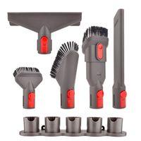6pcs Vacuum Cleaner Brushes Mount Holder Attachment Kit Vacuum Hose Accessories For Dyson V7 V8 V10