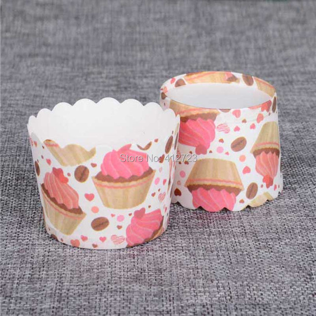 Schone Kuchen Backen Pappbecher Cupcake Muffin Fall Eis Dekoration