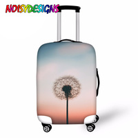 NOISYDESIGNS Dandelion Case Cover Luggage Protective Covers Trolley Trunk Case Dustproof Suitcase Covers Travel Accessories