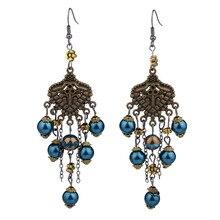 Tassel Earrings for Women Earings Colorful Bohe Bohemian Heart Jewelry