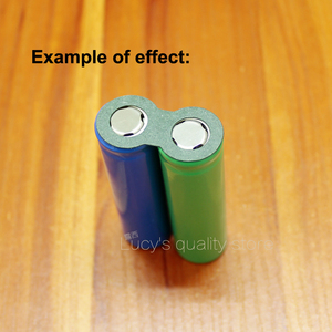 Image 5 - 100pcs/lot 18650 Battery Pack Accessories Solid Insulation Pads 2/3 Ink Barrels Green Shell Paper Diy Fittings