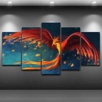 HD Wydrukowano Home Decor Oprawiona wall art up obraz Spray Obraz Olejny Dekoracji Artystycznej Druku Rysunek na Płótnie Phoenix AE0576