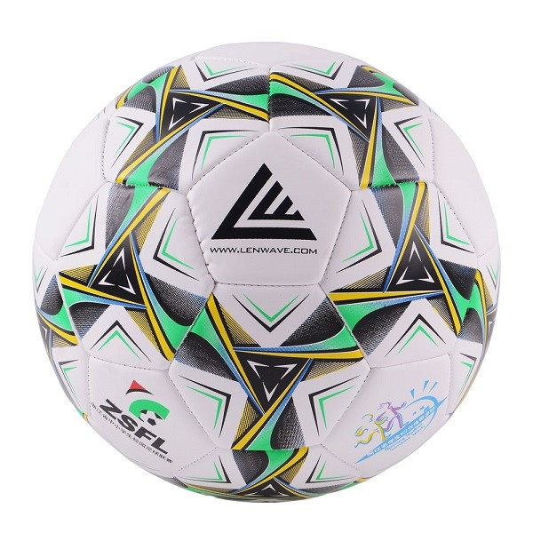 Lenwave Brand Two Color PVC Football Ball Primary And Middle School Students Training Equipment Soccer Ball Size 4