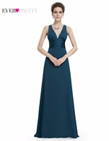 Clearance Sale Ever Pretty Sexy Women Bridesmaid Dresses Sleeveless V Neck Formal Ladies Vestido Party