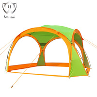 Outdoor Awning Tent Multi Person Sun Protection Awning Ventilation Wind Proof Beach Sun Protection Beach Tent