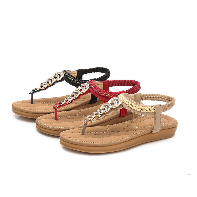 Free-Shipping-Size-35-41-New-National-Style-Double-Bottom-Comfortable-Flat-Boho-Female-Sandals-Women (2)