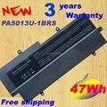 14.8v47wh 3060 mah de 8 celdas baterías para portátiles pa5013u-1brs pa5013 para toshiba portege z830 z835 z930 serie pa5013u batería del ordenador portátil