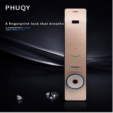 Automatic Anti-Theft Door Breathing Light Smart Lock Home Fingerprint Code Magnetic Card PHUQY-FQ8 …