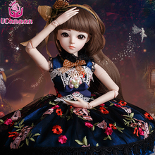 UCanaan BJD Doll SD Dolls 23.6 inch 18 Joints Body Beauty  Handmade Clothes Shoes Wig&Makeup Toys for Girls Princess Dolls