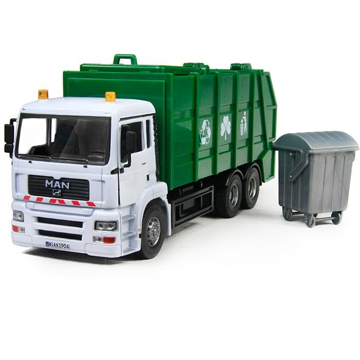 Alloy bureau car garbage truck alloy car model artificial for Bureau cars toys r us