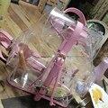 RU & BR Geléia Transparente Sacos de Verão Nova Versão Coreana Casuais Feminino Ombros Bag Limpar Personalizado Bonito Mochilas Top Quality