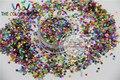 Mezclado ColorsSTAR Forma Glitter Lentejuelas Lentejuelas Láser para el arte del clavo y la decoración de DIY-Tamaño: 3 MM 1 pack = 50g