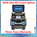 Envío gratis DHL Eloik ALK-88 FTTH fibra óptica fusionadora de soldadura máquina de empalme