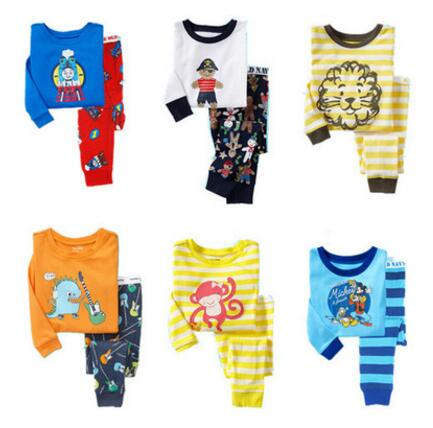2 Pcs/set Autumn Newborn Clothing Sets Long Sleeve Kids Clothes Baby Boys Girls Clothes Set Cotton Newborn Baby Suit Pajamas kids boys clothes girls clothing sets toddler pajamas suit owl long sleeve spring 2pcs set baby girl outfit baby pajamas costume