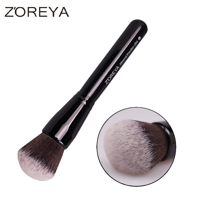 Professional Loose Mineral Powder Brush Multifunctional Foundation Blush Makeup Brushes Nylon Hair Cosmetic Tool Maquiagem maquiagem professional foundation makeup brush wooden soft hair round powder blush make up brushes cosmetic tool high quality