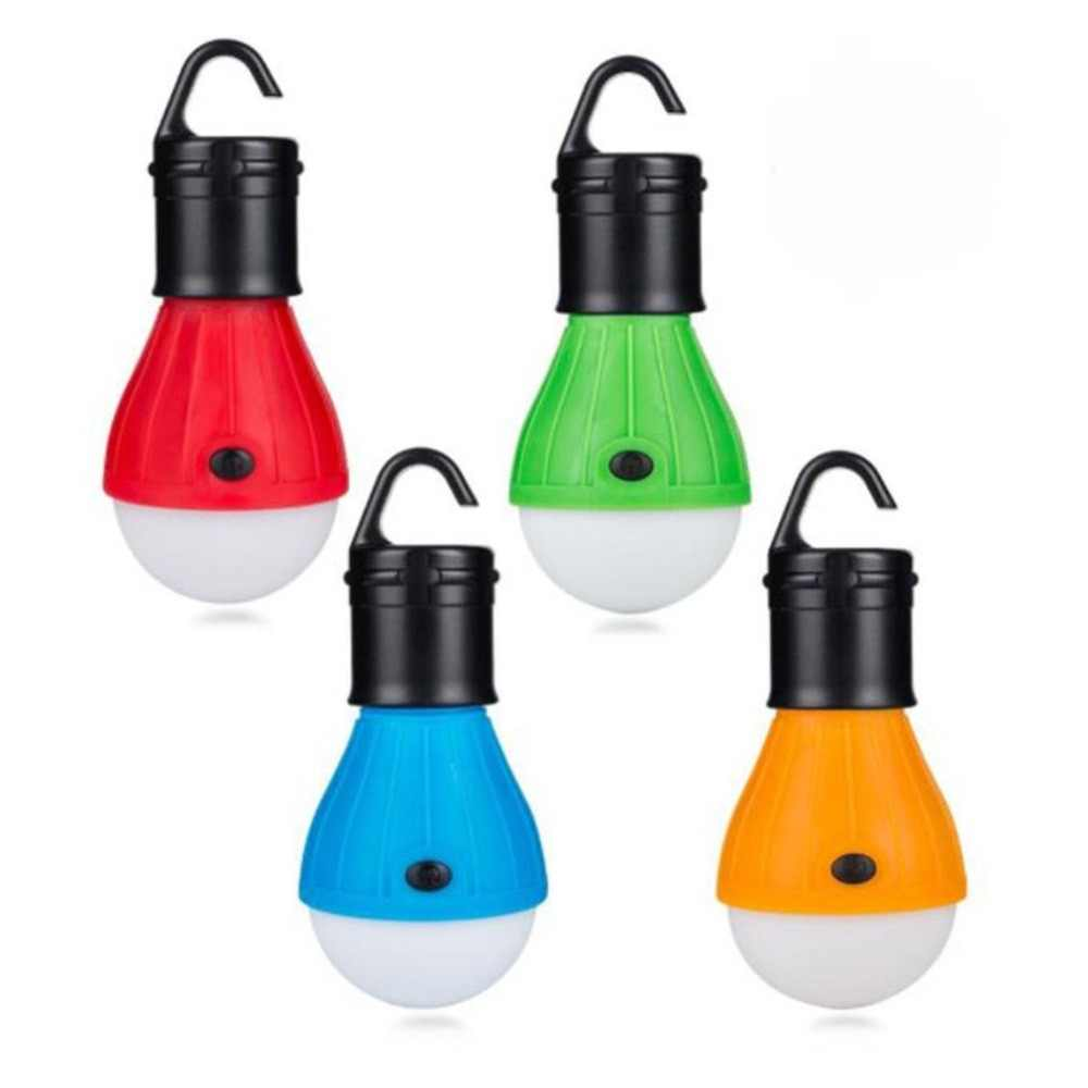 2018 мини портативный фонарь тент светодиодный светильник аварийная лампа водонепроницаемый подвесной крючок походный фонарик 4 цвета