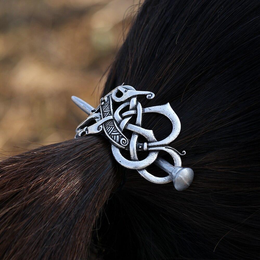 Norse Dragon Hairpin 2